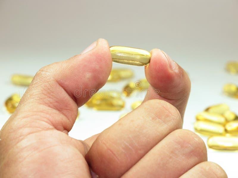 Pillole del gel immagini stock libere da diritti
