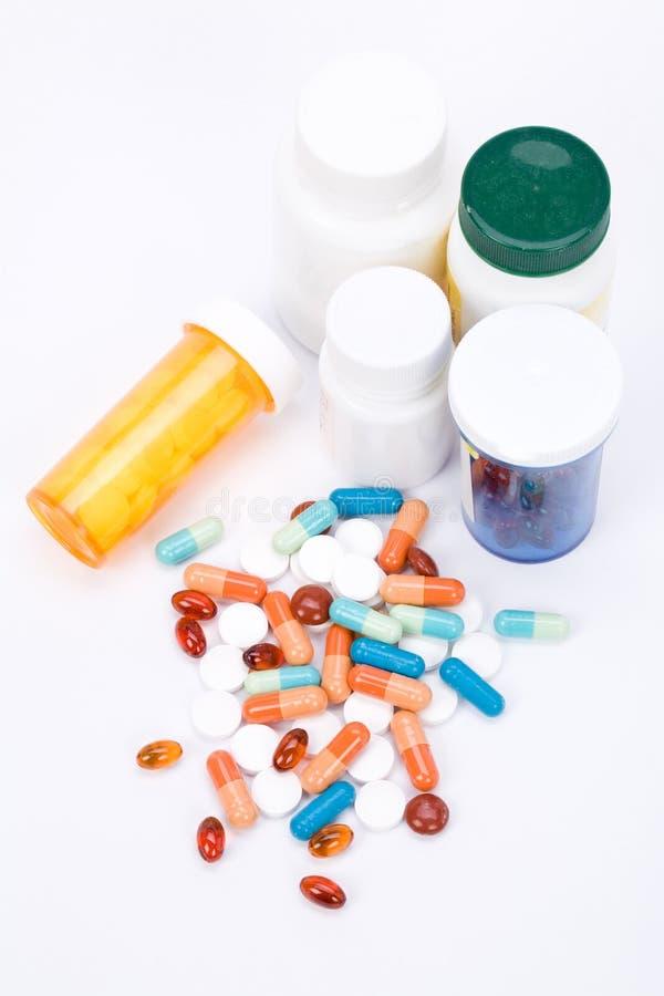 Pillole della medicina fotografie stock