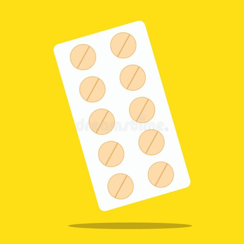 Pillole e capsule royalty illustrazione gratis