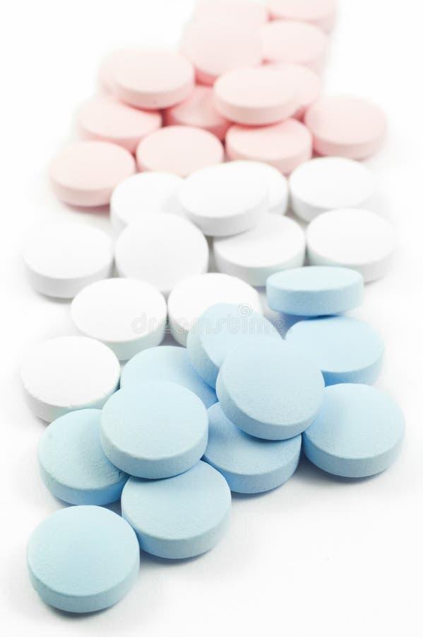 Pillole e droghe Colourful fotografia stock libera da diritti