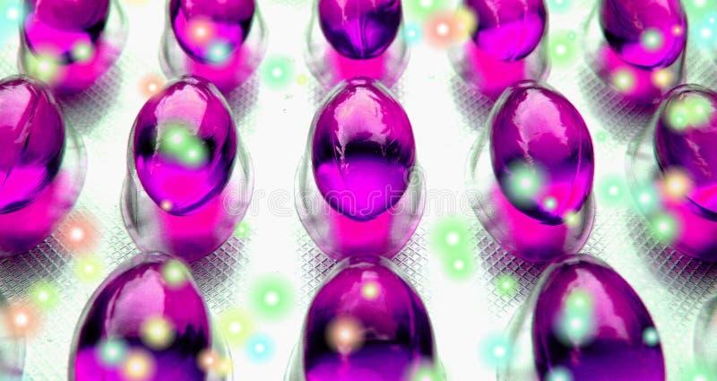 Pillole felici immagine stock libera da diritti