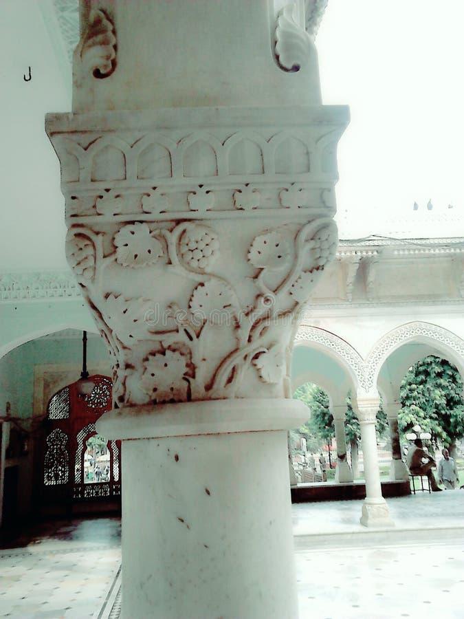 Pillor van Jaipur Musuem stock foto
