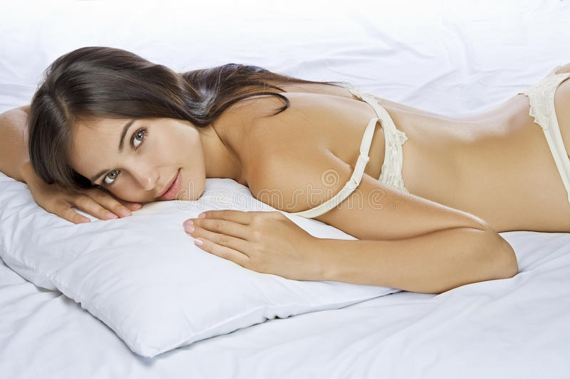 On Pillow Stock Images