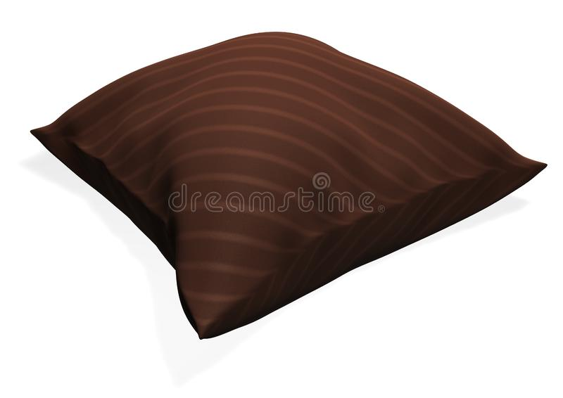 Download Pillow stock image. Image of sleep, trend, bedding, white - 14165413
