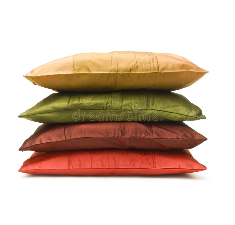 Download Pillow stock photo. Image of feather, wool, overlapped - 15679776
