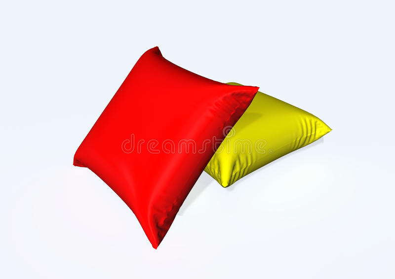 Pillow stock illustration