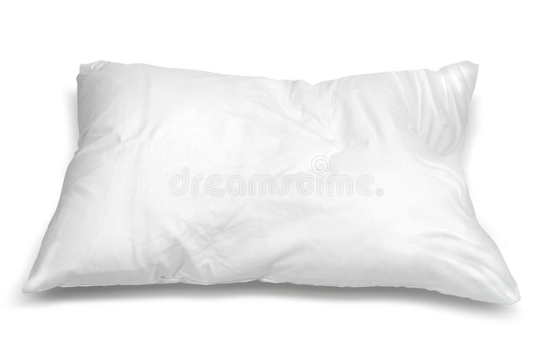 Pillow stock photo