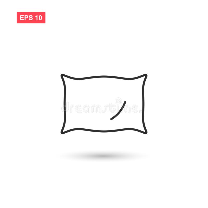 Free Pillow Icon Vector Design Isolated Royalty Free Stock Photos - 138740988