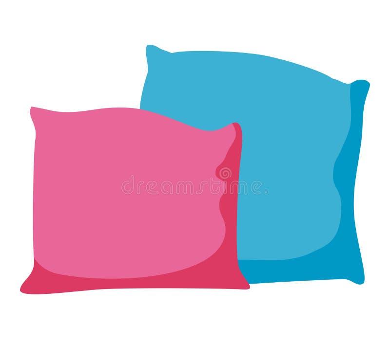 Pillow icon vector illustration flat design stock illustration