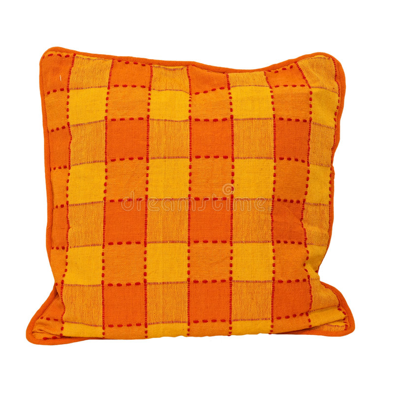 Pillow isolated 2 royalty free stock photo