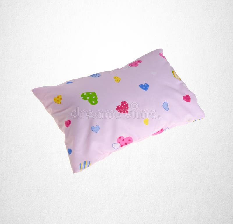 Pillow or small pillow for baby on a background. Pillow or small pillow for baby on a background royalty free stock photos