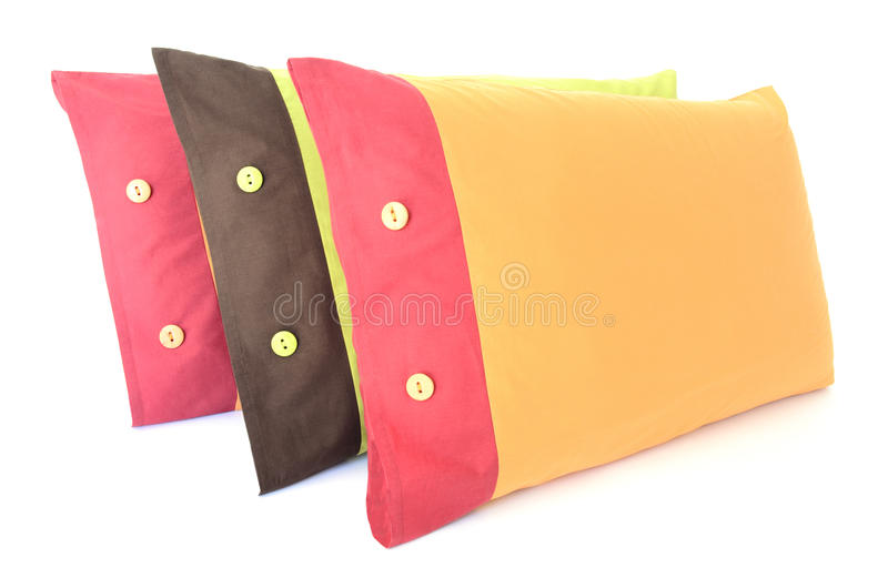 Download Pillows stock photo. Image of three, puffy, stack, pillow - 25561344