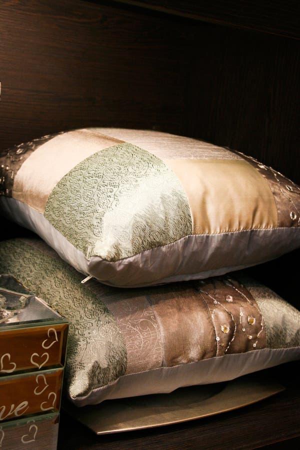 Pillows royalty free stock photos