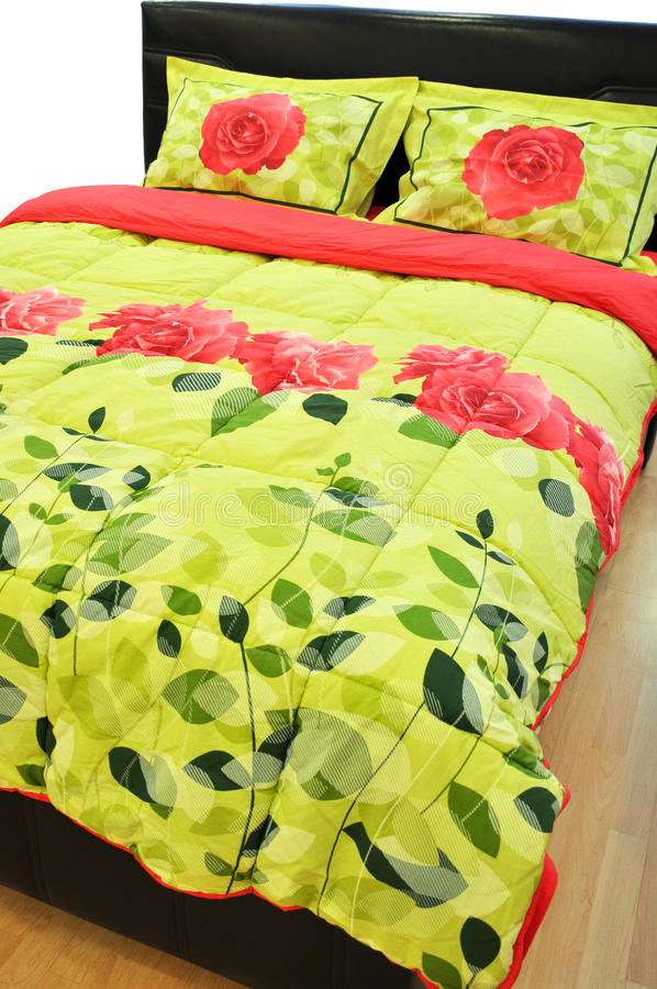Free Pillows And Bed Stock Image - 23496631