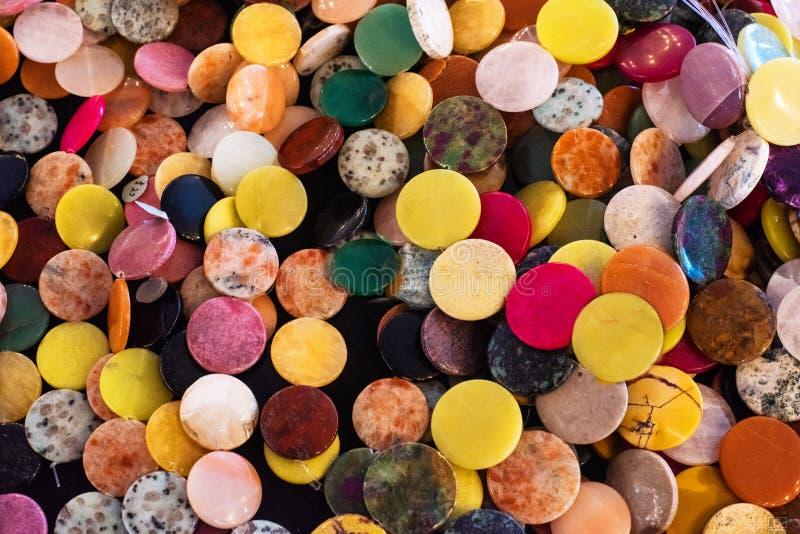 Beautiful coloured stones stock photo