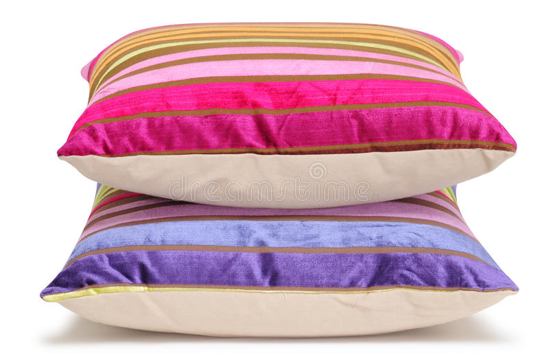 Pillows. Isolated stock images