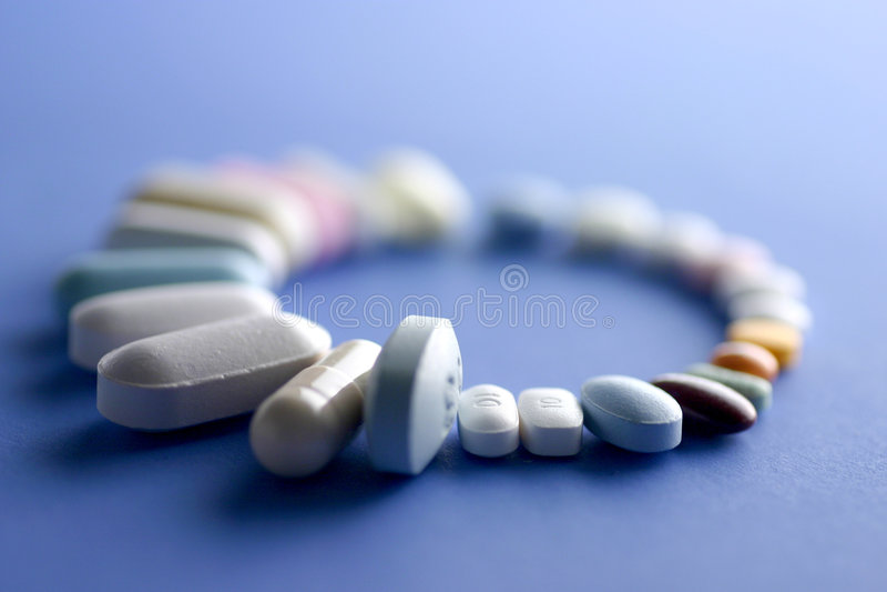 Pills Royaltyfria Bilder