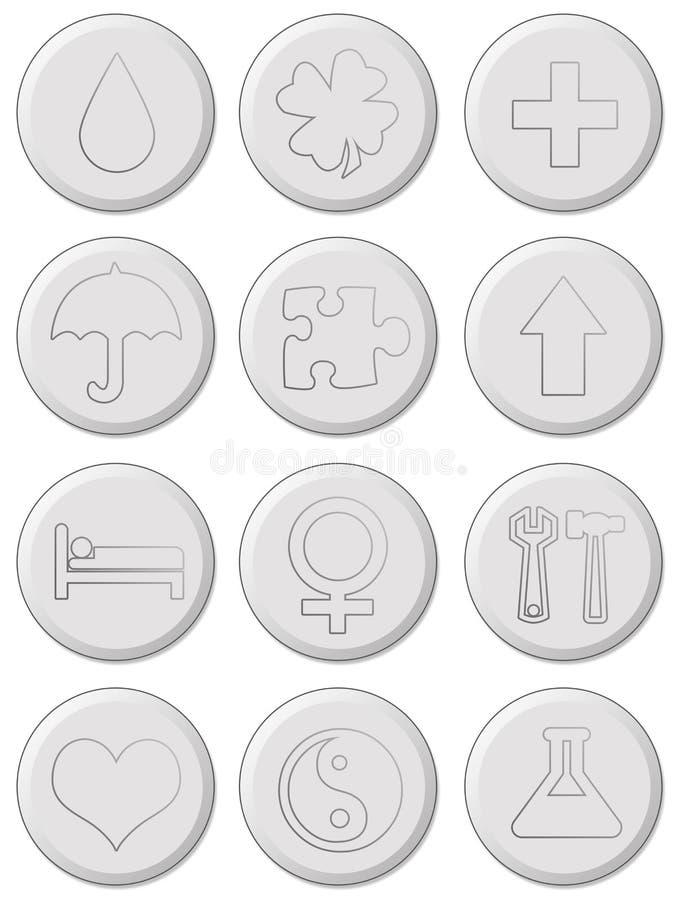 Pills stock illustration