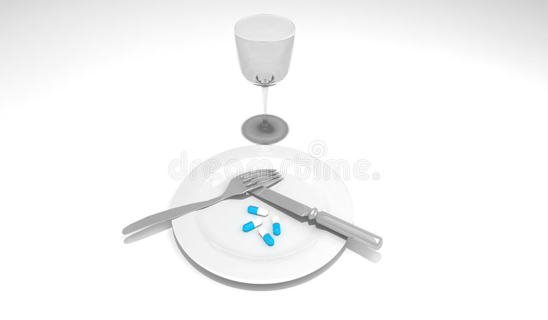 Download Pills stock illustration. Illustration of calories, body - 7253611