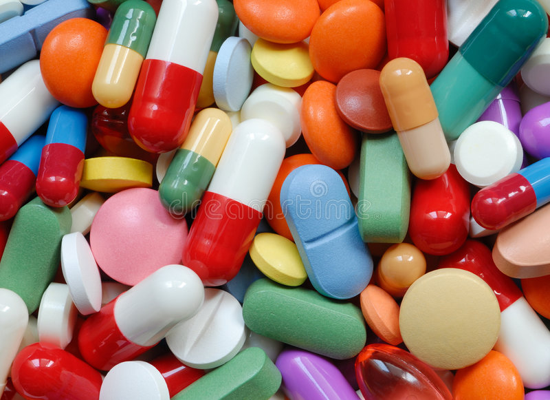 Pills royalty free stock images