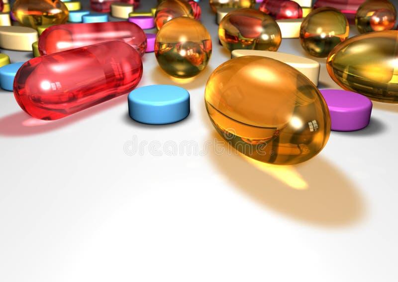 pills fotografering för bildbyråer