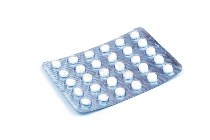 Download Pills in a blister stock photo. Image of danger, blister - 1109906