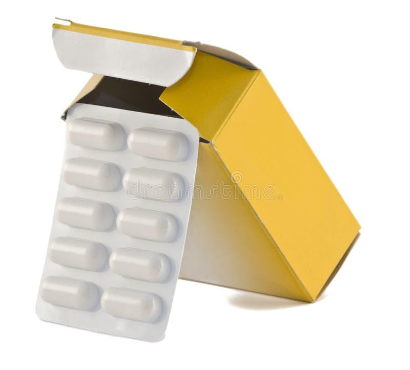 Pills box stock images