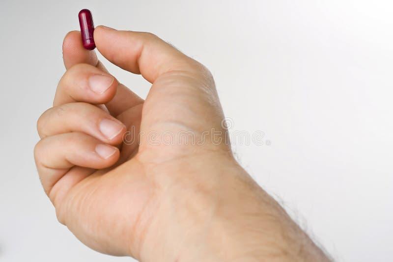 pills för apotek för kapselfärgsjukvård royaltyfri foto