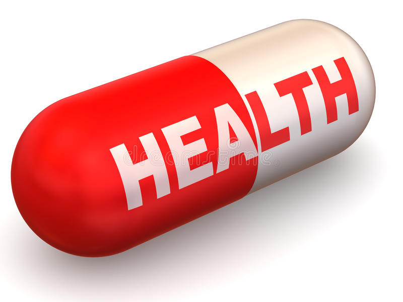 Pills. Health Royalty Free Stock Images