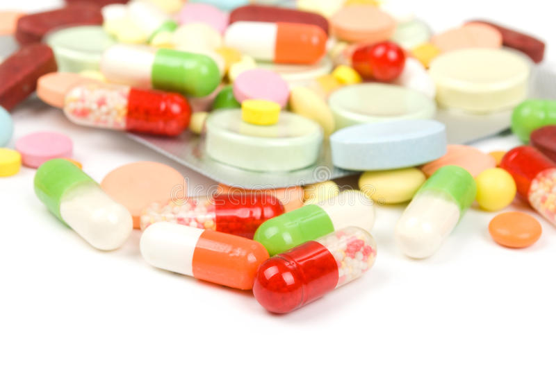 Download Pills stock photo. Image of group, help, dose, white - 33695206