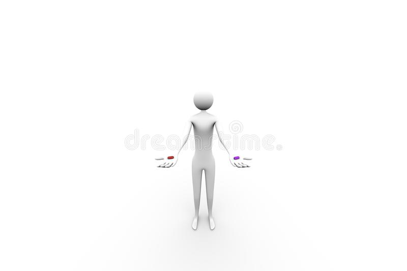 Download Pills stock illustration. Image of insulated, acceptance - 43354798