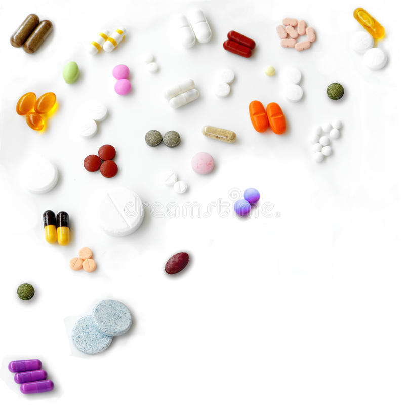 Free Pills Mix Royalty Free Stock Photos - 15163538