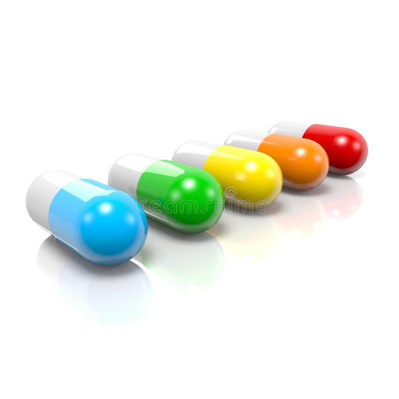 Pills Set Stock Photos
