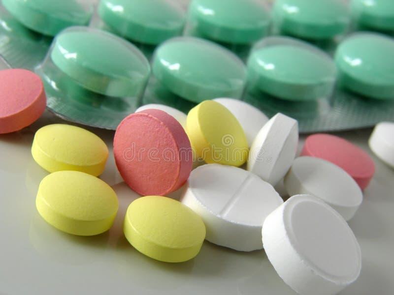 Pills still life royalty free stock photo