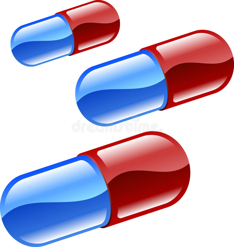 Pills or tablets illustration