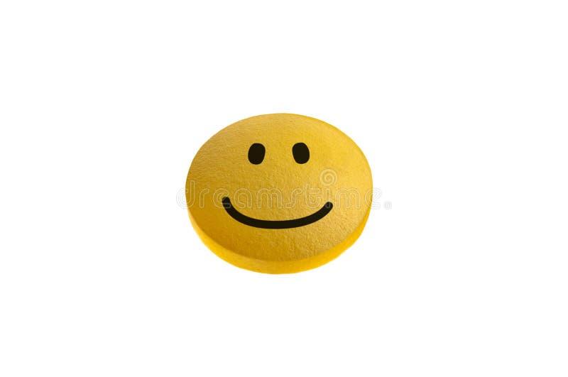 Pillule de sourire photographie stock libre de droits