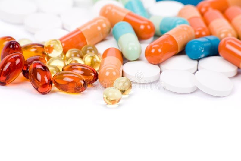Pillules de médecine image libre de droits
