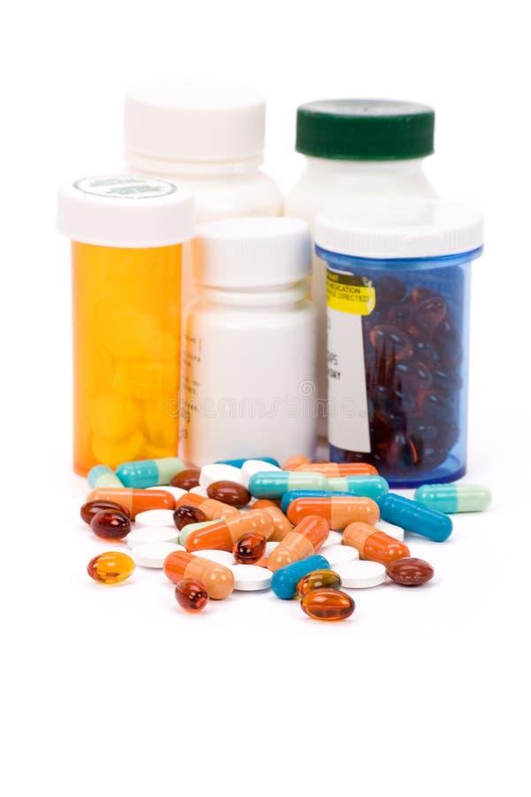 Pillules de médecine photos libres de droits