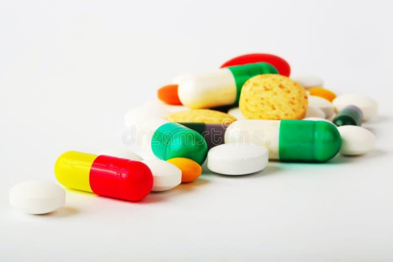 Pillules et capsules photos stock