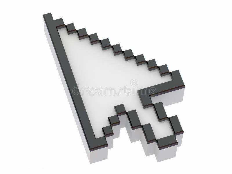 pilmarkörmus vektor illustrationer