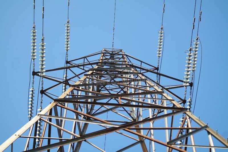 pilon elektryczne fotografia royalty free