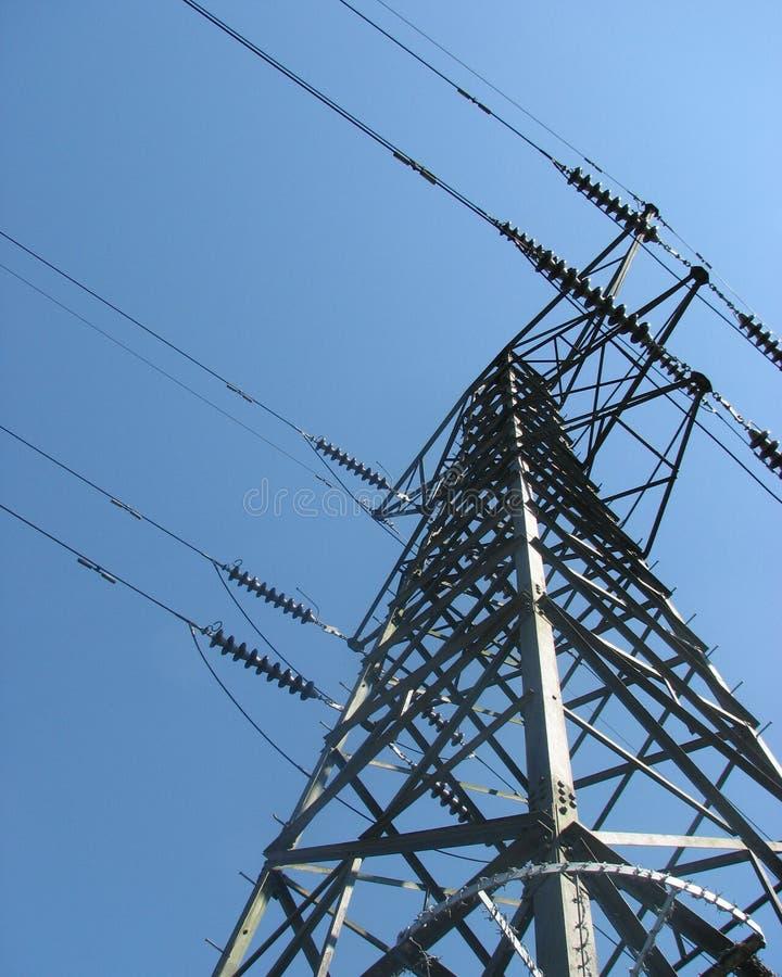 pilon energii elektrycznej zdjęcia royalty free