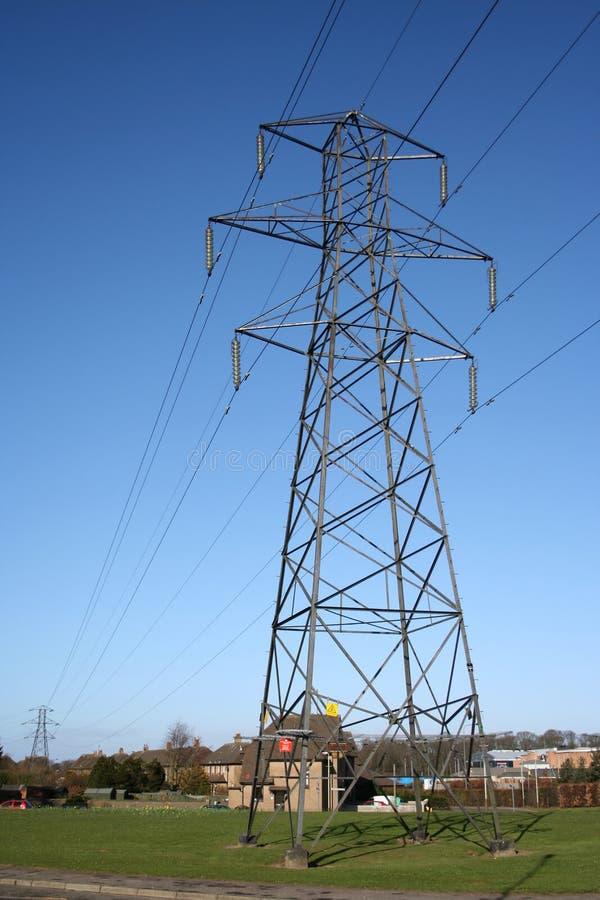 pilon energii elektrycznej zdjęcia stock