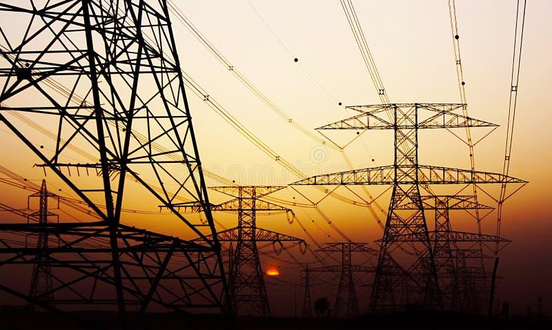 Pilone di elettricità immagine stock libera da diritti