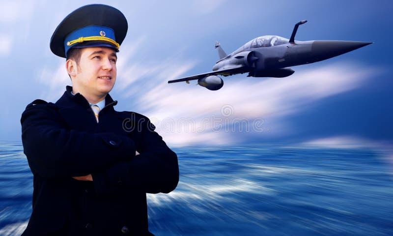 Pilot lizenzfreies stockfoto