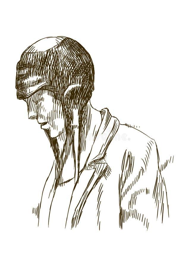 Pilot royalty ilustracja