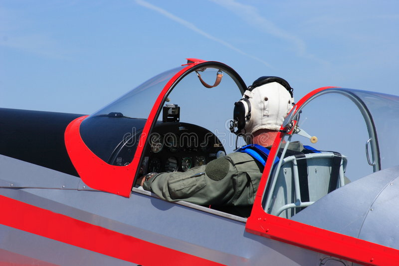 Download Pilot stock photo. Image of headset, officer, force, aircraft - 2901080