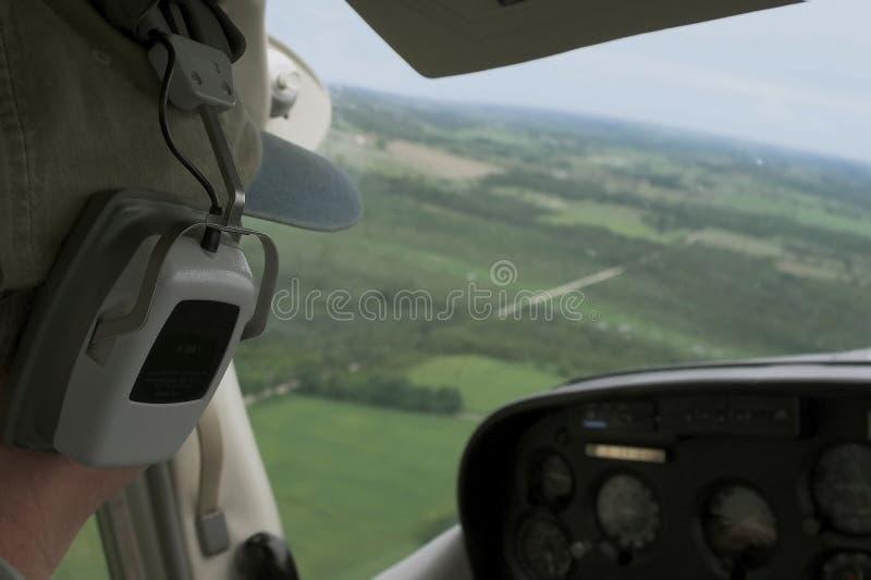 Pilot stock image