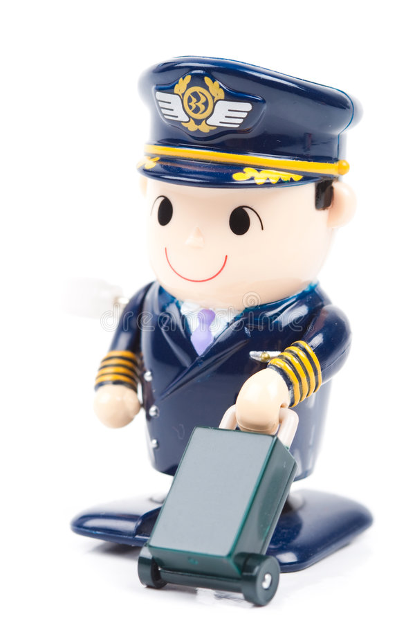 pilot royaltyfri bild