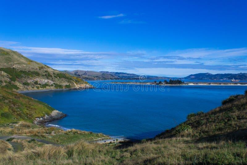 Pilot Beach Otago Peninsular lizenzfreies stockfoto